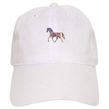 Horse Of Many Colors Baseball Cap