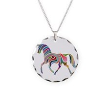 Horse Of Many Colors Necklace