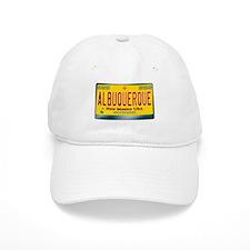 """""""ALBUQUERQUE"""" New Mexico License Plate Baseball Cap"""