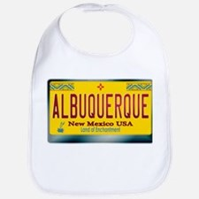 """ALBUQUERQUE"" New Mexico License Plate Bib"