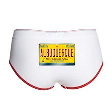"""""""ALBUQUERQUE"""" New Mexico License Plate Women's Boy"""