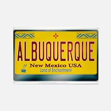 """ALBUQUERQUE"" New Mexico License Plate Rectangle M"