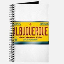 """ALBUQUERQUE"" New Mexico License Plate Journal"