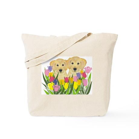 Golden Retriever Tote Bag