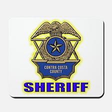 Contra Costa County Sheriff Mousepad