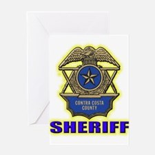 Contra Costa County Sheriff Greeting Card