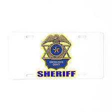 Contra Costa County Sheriff Aluminum License Plate