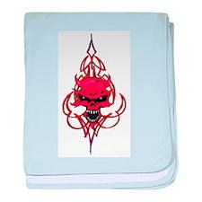 DEMON STRIPES baby blanket