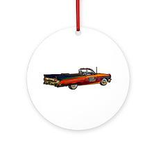 Classic Pontiac Convertible Ornament (Round)