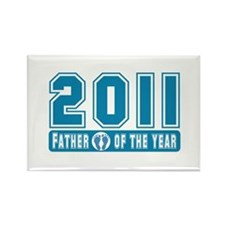 2011 Father of the Year Rectangle Magnet