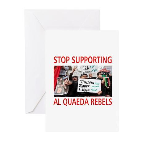OBAMA HELPING AL QUAEDA Greeting Cards (Pk of 10)