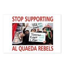 OBAMA HELPING AL QUAEDA Postcards (Package of 8)