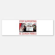 OBAMA HELPING AL QUAEDA Bumper Bumper Sticker