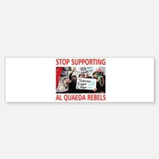 OBAMA HELPING AL QUAEDA Sticker (Bumper)