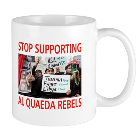 OBAMA HELPING AL QUAEDA Mug