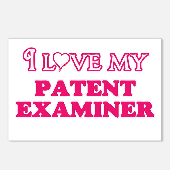 I love my Patent Examiner Postcards (Package of 8)