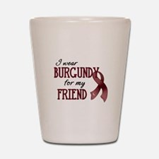 Wear Burgundy - Friend Shot Glass