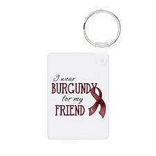Wear Burgundy - Friend Keychains