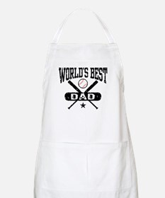 World's Best Baseball Dad Apron