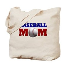 Baseball Mom: Tote Bag