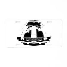 Camaro Aluminum License Plate