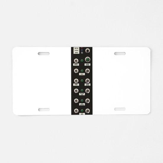 007 Controls Aluminum License Plate