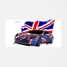 Aston Martin Aluminum License Plate