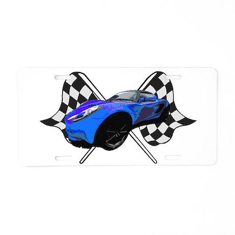 Lotus Racing Aluminum License Plate