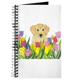Golden retreiver dog Journals & Spiral Notebooks