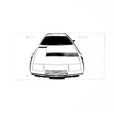 Maserati Khamsin Aluminum License Plate