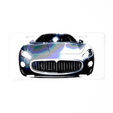 Maserati Aluminum License Plate