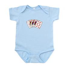 Diamond's Royal Flush Infant Bodysuit