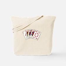Diamond's Royal Flush Tote Bag