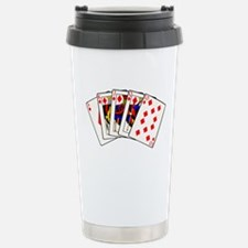 Diamond's Royal Flush Travel Mug