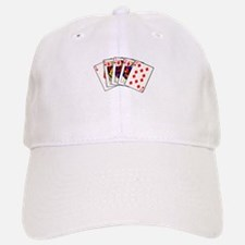 Diamond's Royal Flush Baseball Baseball Cap