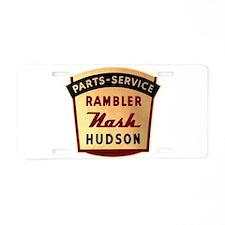 Nash Rambler Hudson Service Aluminum License Plate