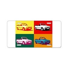 Yugo Cars Aluminum License Plate