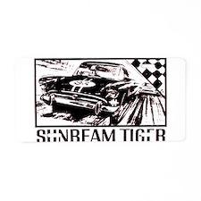 Sunbeam Tiger Race Aluminum License Plate