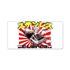 Japanese DeLorean Aluminum License Plate