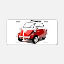 Isetta Car Aluminum License Plate