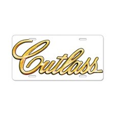 Cutlass Aluminum License Plate