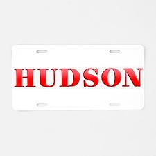 Hudson Motorcars Aluminum License Plate