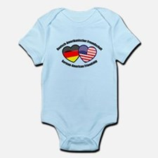 German-American Friendship Infant Bodysuit