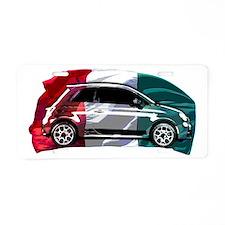 Italian Style Aluminum License Plate