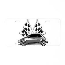 Fiat Aluminum License Plate