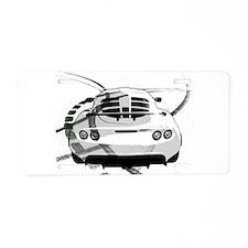 Exige Aluminum License Plate