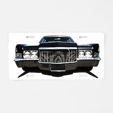 Whips Aluminum License Plate