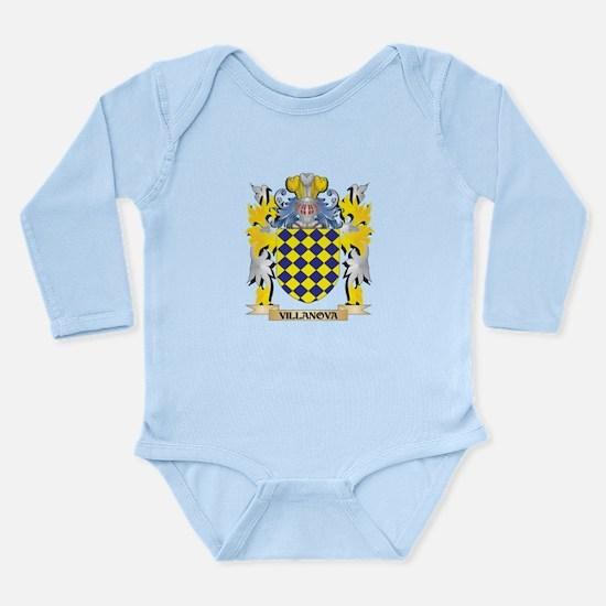 Villanova Family Crest - Coat of Arms Body Suit