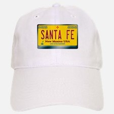 """SANTA FE"" New Mexico License Plate Cap"