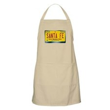 """SANTA FE"" New Mexico License Plate Apron"